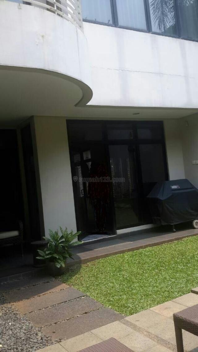 Rumah Taman Dalam Cluster, Cipete, Jakarta Selatan