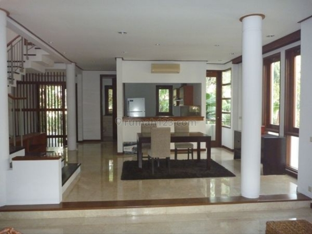 Bright and modern house in a compound, near FIS, Cipete, Jakarta Selatan