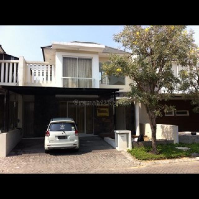 Rumah 2 lantai cluster Harewood perumahan Royal Residence, Surabaya, Wiyung, Surabaya