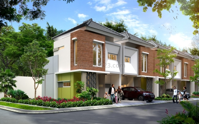 Hunian The Orchard Residence Type 57 Blok A-1 (Hook) Di Parung
