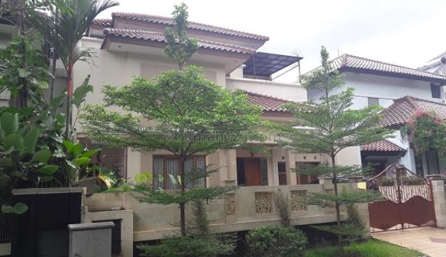 Rumah Di Vila Cinere Mas, Menghadap Barat, 4 Bedrooms, Semi Furnished, Luas Tanah 300 M2