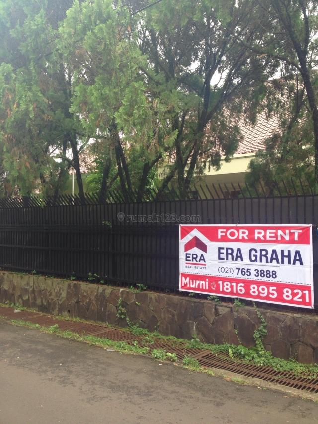 cozy house with big yard, Cipete, Jakarta Selatan