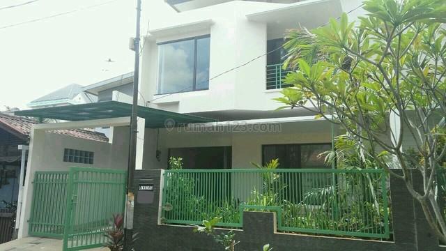 Bangunan Baru Rumah Minimalis Bebas Banjir, Loka Indah - Mampang Prapatan - Buncit, Mampang Prapatan, Jakarta Selatan