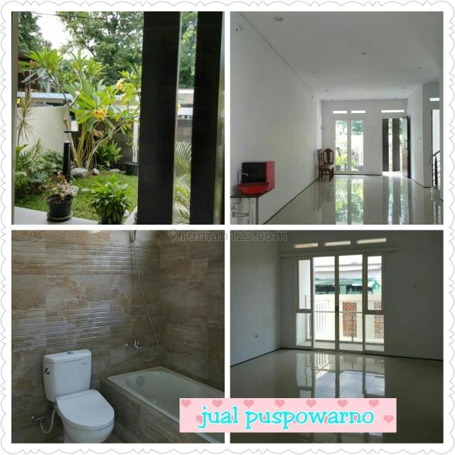 Rumah Siap Tempati Di Jl. Puspowarno Selatan, Semarang, Puspowarno, Semarang