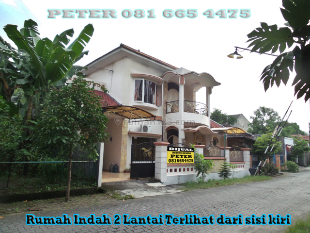 RUMAH INDAH (2 LANTAI) SIAP HUNI JL PANDANWANGI  GEMAH SMG DEKAT ADA SWALAYAN MAJAPAHIT, Gemah, Semarang