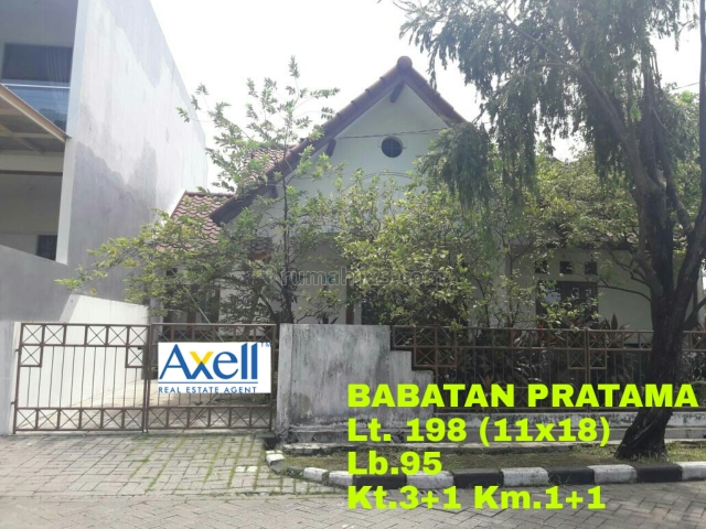 Rumah daerah wiyung, Wiyung, Surabaya