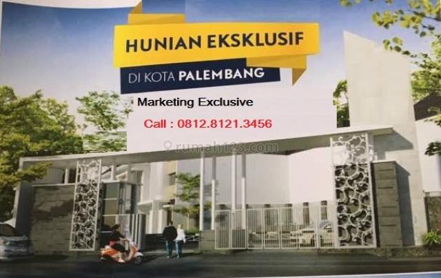rumah murah cantik dan nyaman di tengah kota palembang,one gate system, Sukarame, Palembang