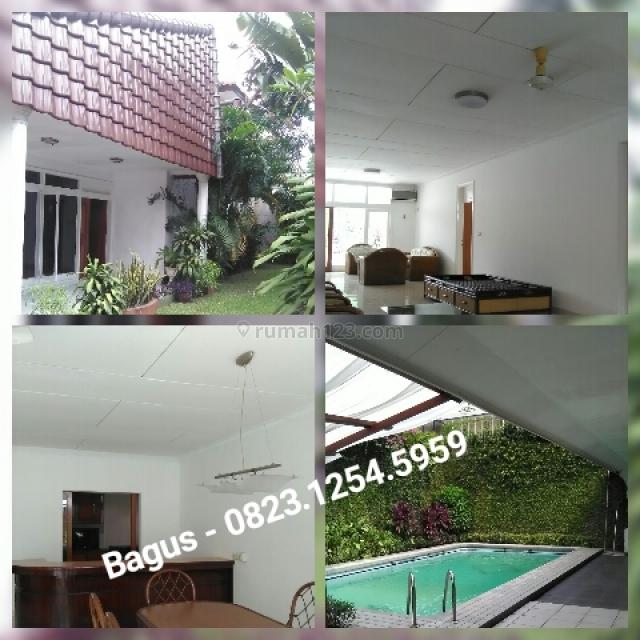 Rumah Asri dan Tenang di Kemang, Kemang, Jakarta Selatan