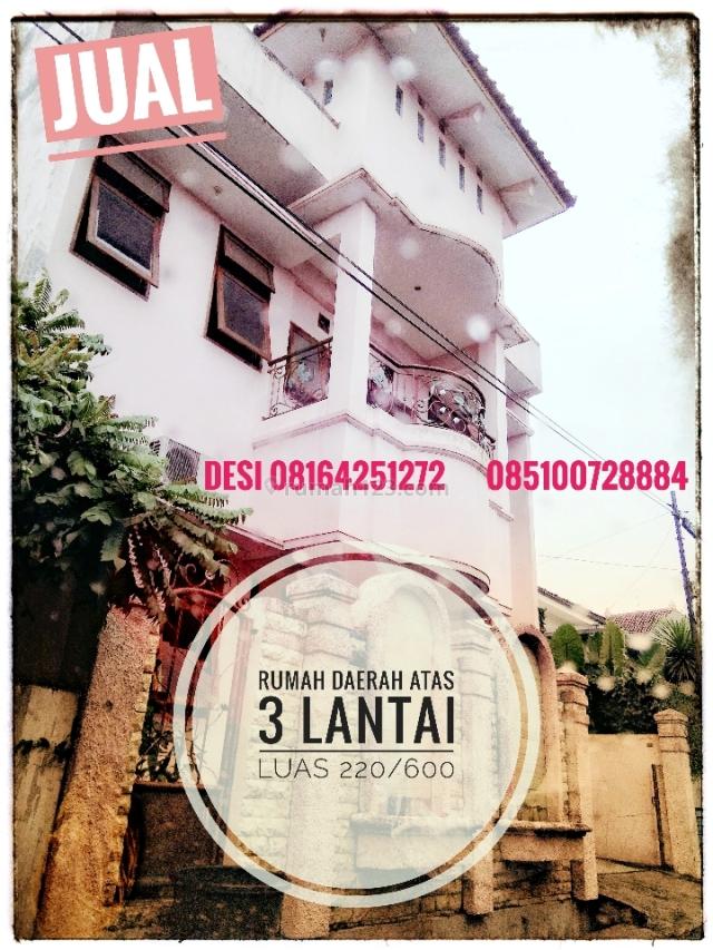 Rumah 3 lantai, sejuk, nyaman, Tengger, Semarang