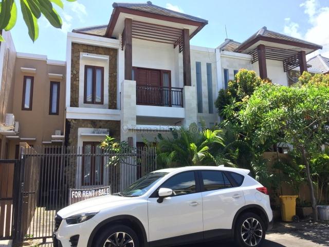 Rumah Baru 2 Lt One Gate System Lingk Aman Semifurnished, Jimbaran, Badung