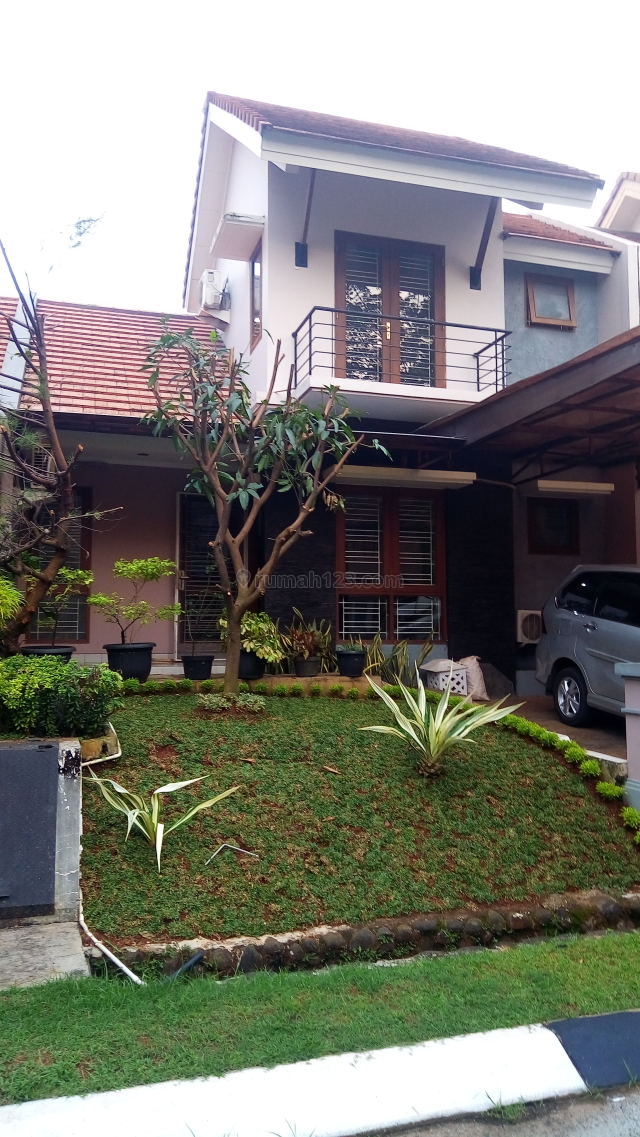 (TN) Rumah Baru Renov  Nyaman, Lingkungan Asri dan Aman Siap Huni, Sawangan, Tangerang