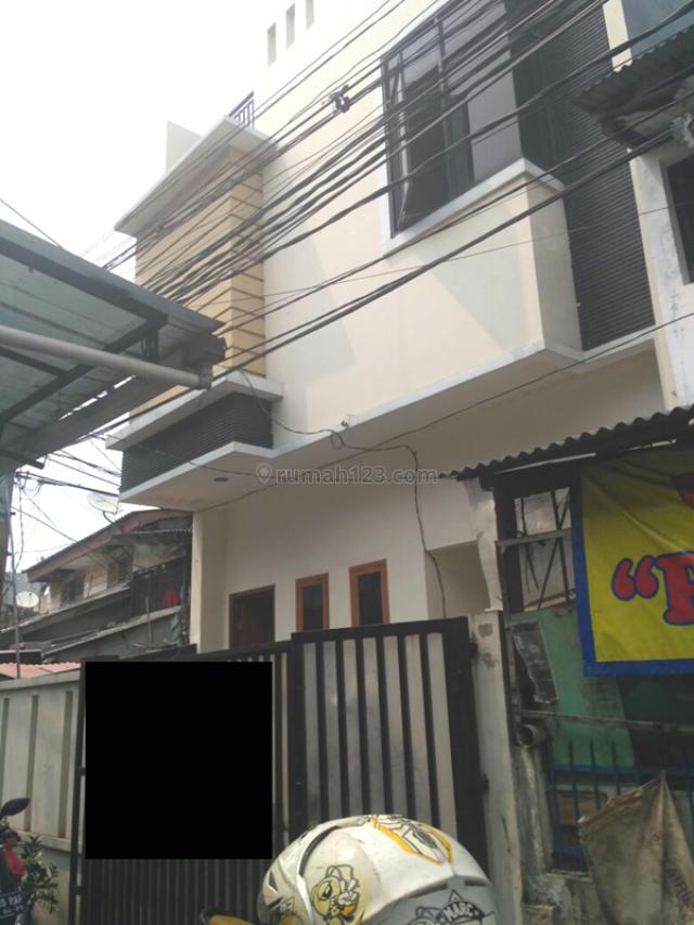 Rumah Baru Renovasi (Ex Konveksi) Di Tanah Sereal MP3339T2, Tambora, Jakarta Barat