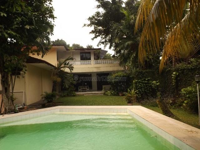 BIG HOUSE 700M2/1.600M2, MODERN, 2 STOREY,  5 BR, SWIMMING POOL, GARDEN, GAZEBO, @ KEMANG  JAKARTA SELATAN, Kemang, Jakarta Selatan
