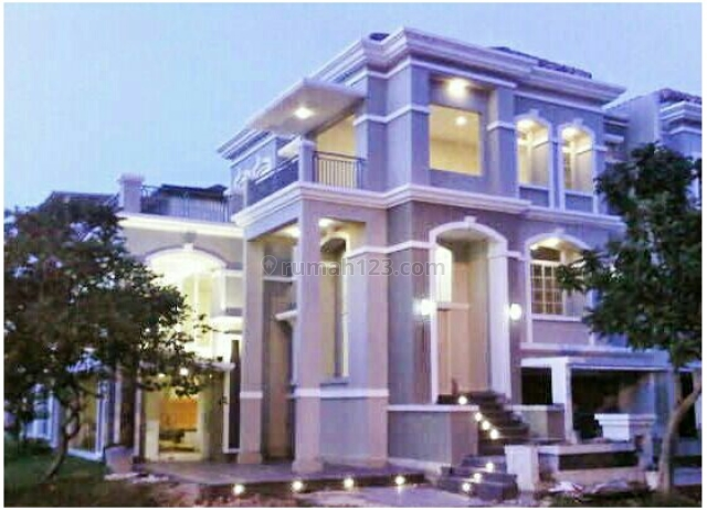 Rumah Hoek 3 Lantai brandnew Classic Minimalis unfurnished BUKIT GOLF MEDITERANIA PANTAI INDA, Pantai Indah Kapuk, Jakarta Utara