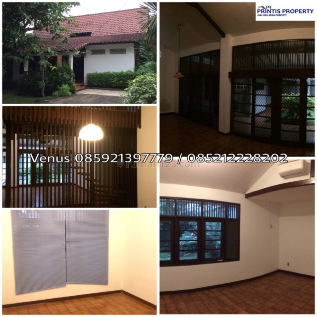 Rumah 1,5 Lantai di Kemang Selatan, Kemang, Jakarta Selatan