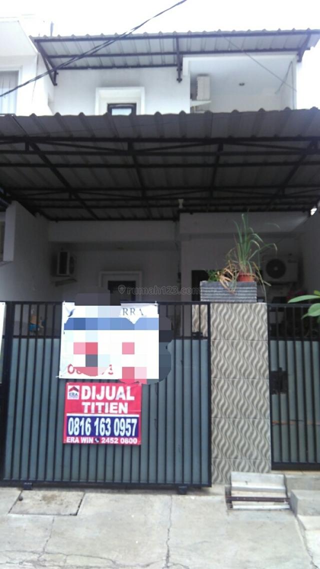 Rumah 2 lantai hadap Barat sudah ditinggikan, Kelapa Gading, Jakarta Utara