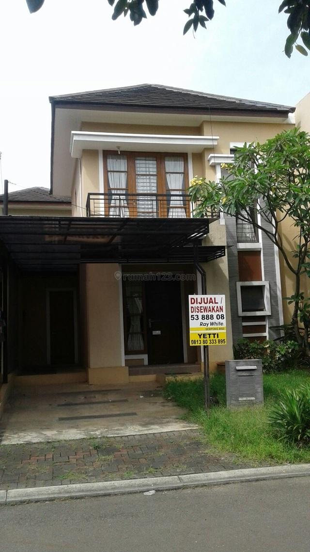 Rumah siap huni di The Green, BSD, Tangerang