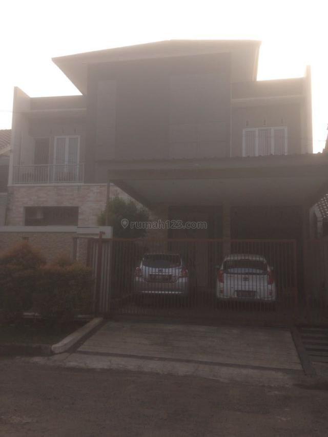RUMAH BAGUS 3 LANTAI DENGAN SEMI FURNISHED DI MELATI MAS BSD (luc 366), BSD, Tangerang
