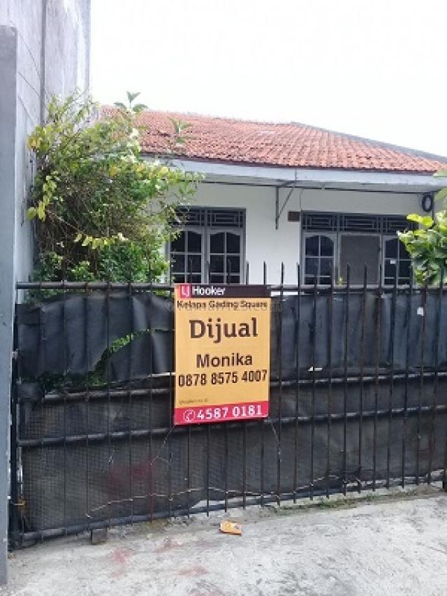 Rumah strategis Krida Raya Kemayoran Jakarta Pusat Strategis harga NEGO, Kemayoran, Jakarta Pusat