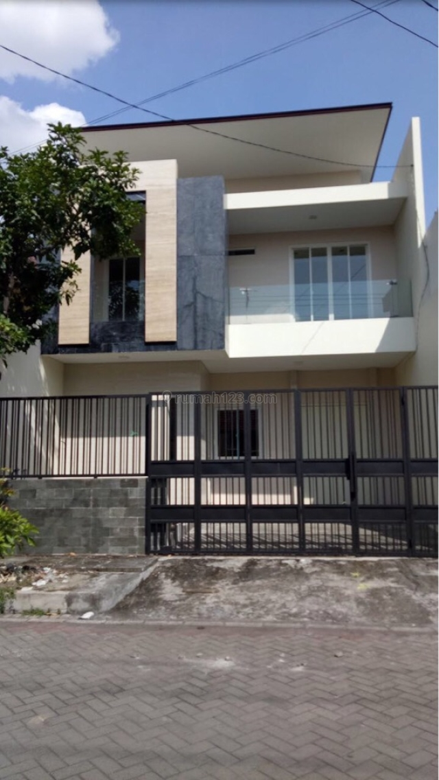 Rumah Baru Gress Minimalis di RUNGKUT ASRI TENGAH, Rungkut, Surabaya