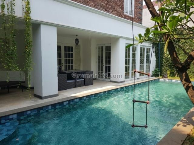 Rumah cantik dalam komplek lingk Expat, Kuningan, Jakarta Selatan