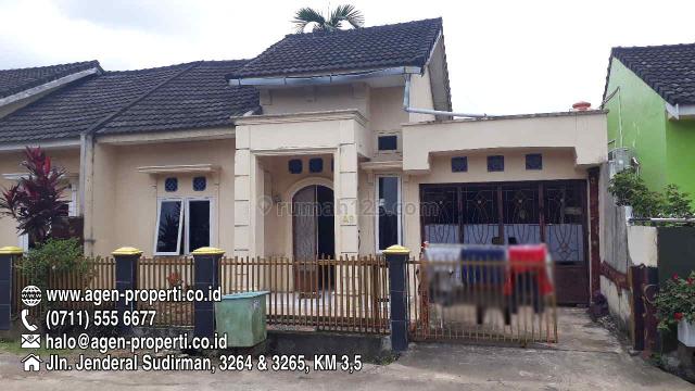 Rumah Murah Komplek Villa Edelweis KM 12 Palembang, Alang Alang Lebar, Palembang