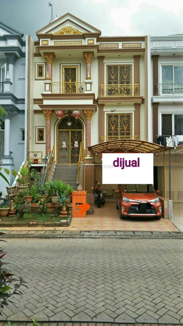 Rumah full furnish di cluster vinice PIK, Pantai Indah Kapuk, Jakarta Utara