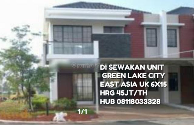 CLUSTER EAST ASIA, Green Lake City, Jakarta Barat