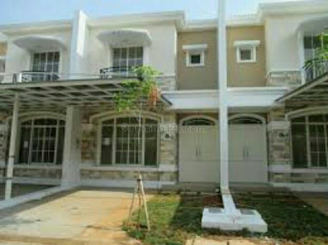 Rumah siap huni di West europe dekat danau, Green Lake City, Jakarta Barat