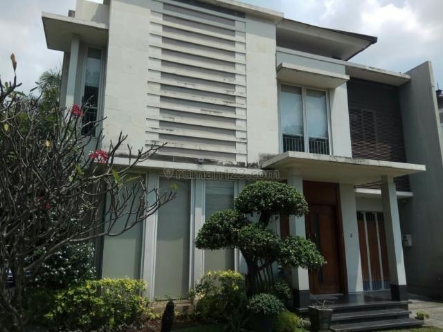 Rumah 2 Lantai Kemang dalam cluster LT 222 m2, posisi Hoek, Akses 2 Mobil Besar, Parkir Luas 3 Mobil, Kemang, Jakarta Selatan