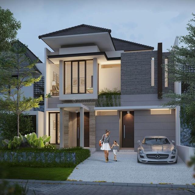 Rumah GRESS Minimalis Lokasi Woodland Citraland, Citraland, Surabaya