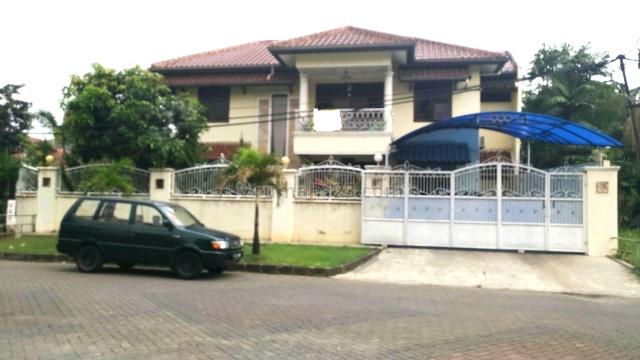 Rumah Hoek siap huni Melati Mas, BSD Villa Melati Mas, Tangerang