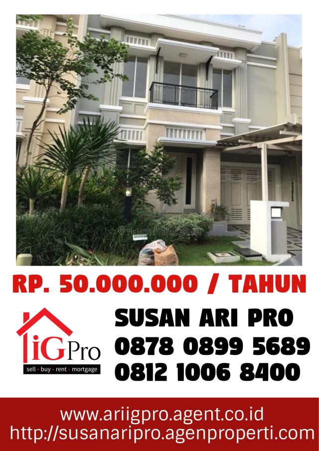 Rumah Cluster MAXWELL, Rumah Idaman Di Gading Serpong, Gading Serpong, Tangerang