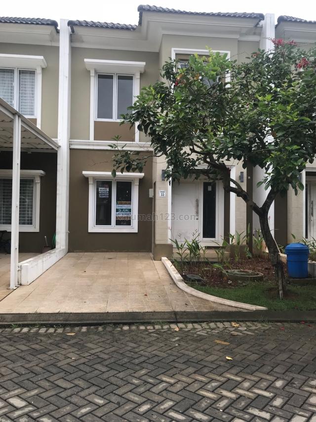 Rumah di cluster Monaco, Gading Serpong, Tangerang