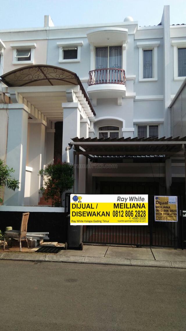 JUAL RUMAH 3 LANTAI MEDITERANIA KELAPA GADING, Kelapa Gading, Jakarta Utara