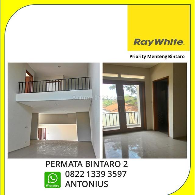 RUMAH BARU MURAH BANGET PERMATA BINTARO CUMA 2M, Bintaro, Tangerang