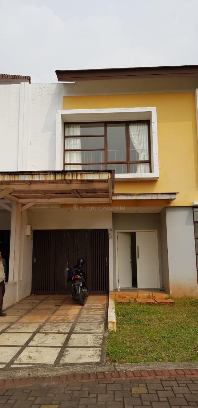 Rumah lebar 12 cluster Lantana JGC Jakarta Garden City hadap Utara  Bangunan 2 lantai, Cakung, Jakarta Timur