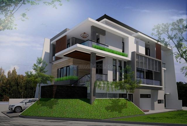Cluster SCARLET - the Spring, Rumah sangat Mewah, Lingkungan Premium, Bangunan Baru(baru selesai), Lokasi Premium & termewah di kawasan Spring, Gading Serpong The Spring, Tangerang