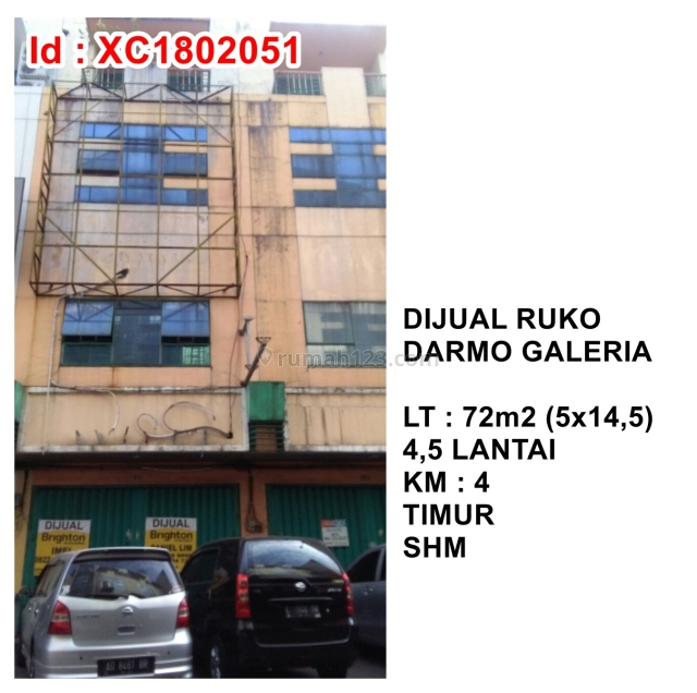 Ruko Darmo Galeria, Darmo permai, Surabaya
