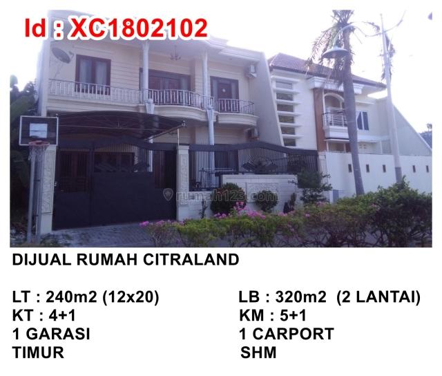 Rumah Citraland Vila Sentra Raya, Citraland, Surabaya