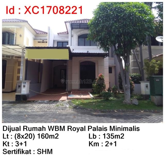 Rumah WBM Royal Palais, Citraland, Surabaya