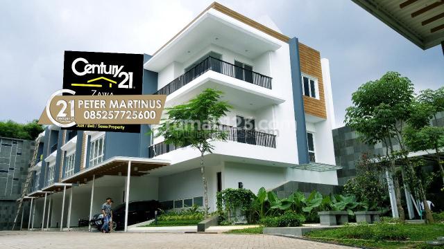 RUMAH MURAH Townhouse ( PRIVATE LIFT ) 6,4M 4BR+1, Radio Dalam, Jakarta Selatan