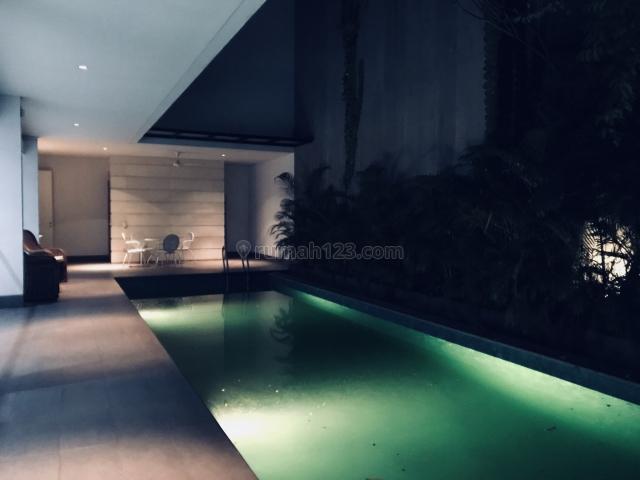 Cozy semi modern open layout new house, Senopati, Jakarta Selatan