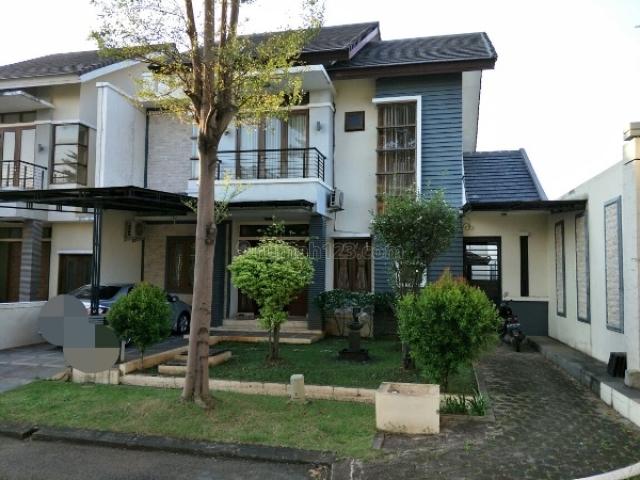 Rumah dlm Cluster Heliconia  Lt 247m 2 lantai semi furnish, Bekasi Barat, Bekasi