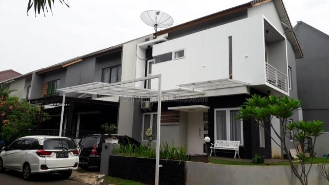 Rumah  Modern Minimalis Posisi Hook Di Cibubur ( Fera, 082111730979), Cibubur, Jakarta Timur