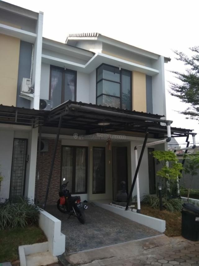 Minimalis modern di Dalam town house, Pondok Benda, Tangerang