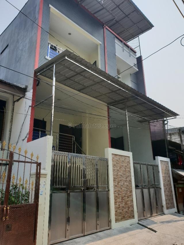 Rumah minimalis 4.5x15, SHM lokasi bagus, harga 2.2M, Teluk Gong, Jakarta Utara
