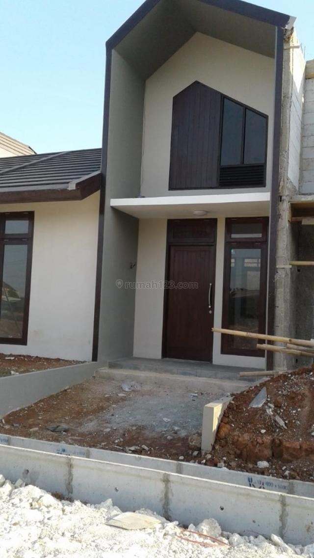 Rumah Murah Akses Stasiun KA Kota Bekasi Barat, Harapan Jaya, Bekasi