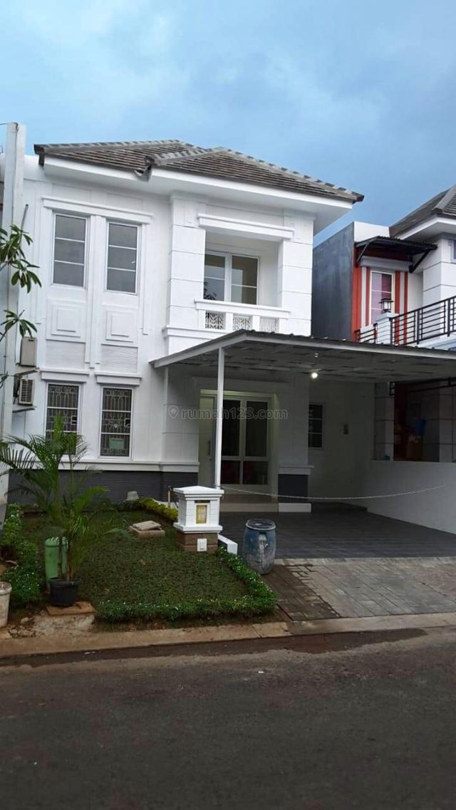 Keren, full reno, baja ringan, lantai granit, cluster yg nyaman, nego, kota wisata, Cibubur, Bogor
