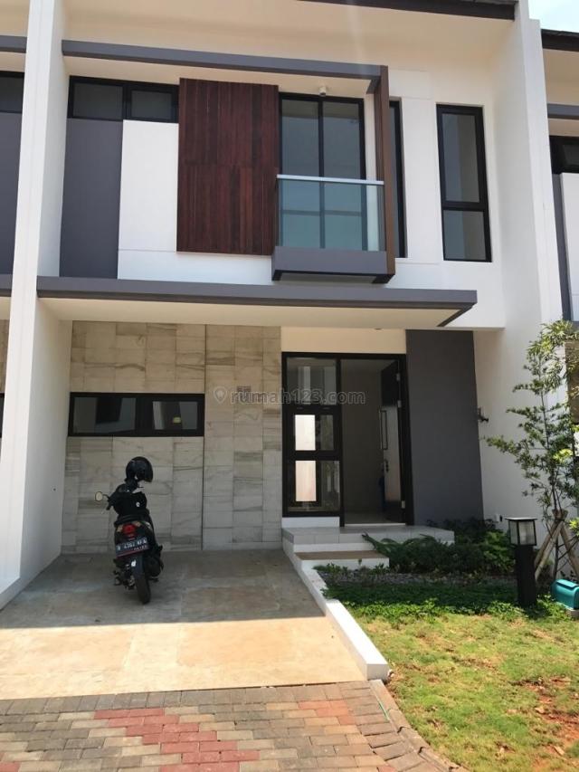 Rumah Baru Minimalis Dekat Stasiun Kereta dan Tol BSD (Kode 118), BSD Delatinos, Tangerang